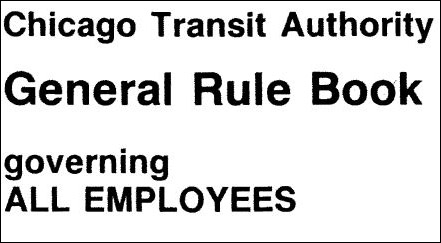 CTA General Rule Book